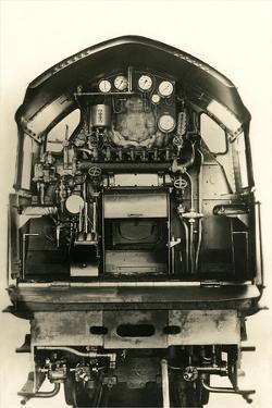Cutaway View of Train Engine