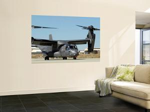 CV-22 Osprey Prepares for Take-Off