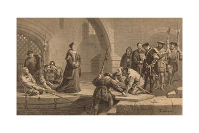 'Cranmer at the Traitor's Gate', 1886