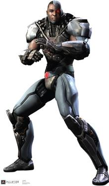 Cyborg - Injustice DC Comics Game Lifesize Standup