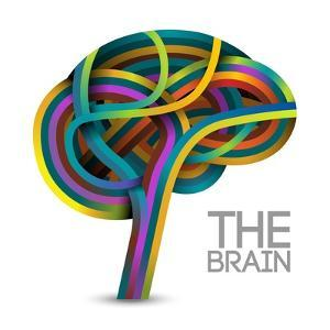Creative Concept of the Human Brain by Cyborgwitch