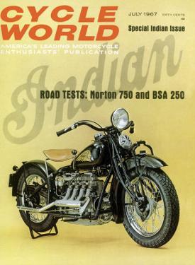 Cycle World, 1930 Indian Motorcycle