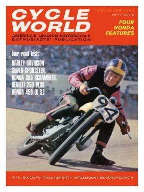 Cycle World, Harley Flat Track