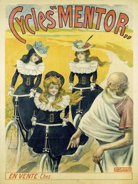 Cycles Mentor, Ca 1896