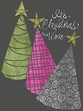 Christmas Glitter Trees by Cyndi Lou