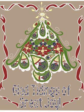 Folklore Christmas Tree Card by Cyndi Lou