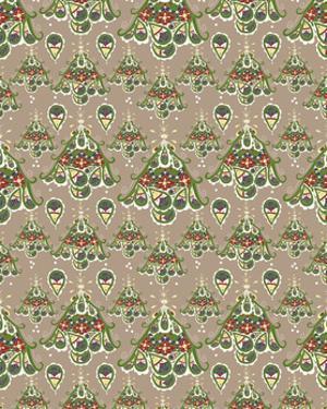Folklore Christmas Tree Pattern by Cyndi Lou