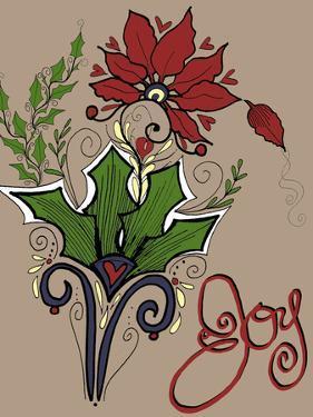 Folklore Holly Bouquet by Cyndi Lou
