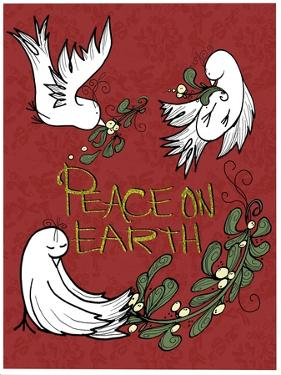 Folklore Peace On Earth Doves by Cyndi Lou
