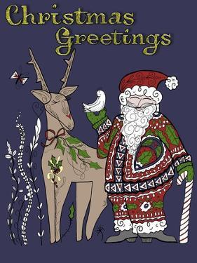 Folklore Santa by Cyndi Lou