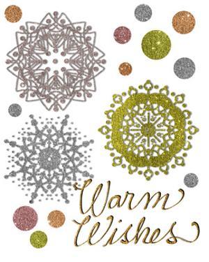 Snowflakes & Polka Dots by Cyndi Lou