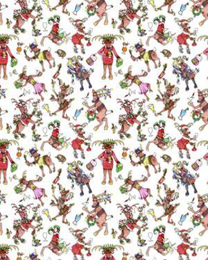 Tipsy Reindeer Party Repeat by Cyndi Lou