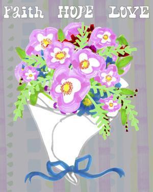 Valentine Floral Bouquet by Cyndi Lou