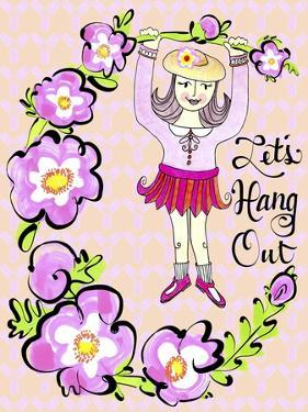 Valentine Floral Hang Out by Cyndi Lou