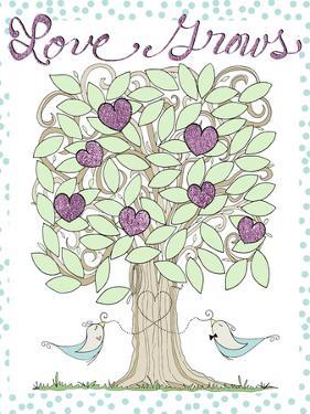 Valentine Heart Tree by Cyndi Lou