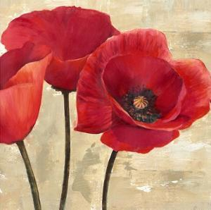 Red Poppies II by Cynthia Ann