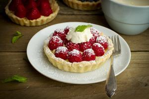 Homemade, Tarts Filled with Fresh, Local Organic Berries by Cynthia Classen