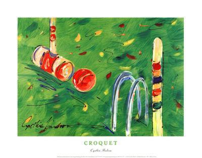 Croquet by Cynthia Hudson
