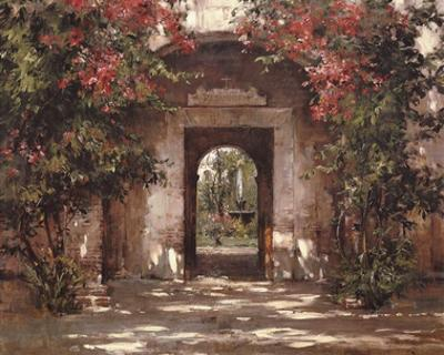 Flowered Doorway