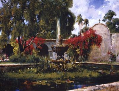 Fountain At San Juan Capistrano