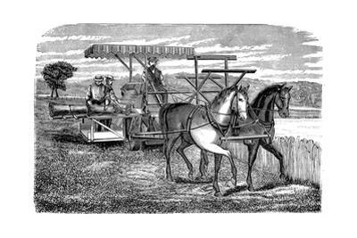 Cyrus Mccormick's Reaper and Binder, 1877