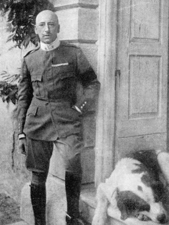 D'Annunzio in 1917