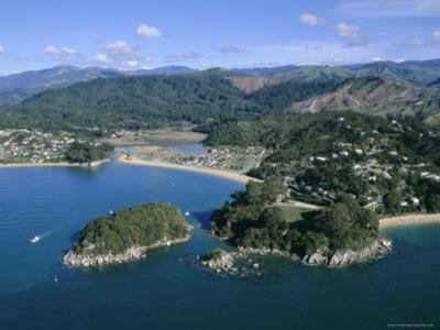 Aerial View of Separation Point Near Golden Bay, Nelson, New Zealand