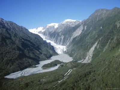 Fox Glacier, Westland, West Coast, South Island, New Zealand