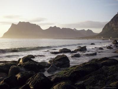 Midnight Sun, Summertime, Lofoten Islands, Arctic, Norway, Scandinavia