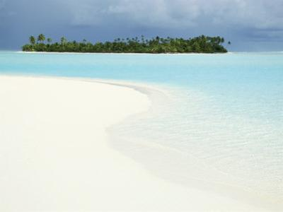 One Foot Island, Paradise Beach, Aitutaki, Cook Islands, South Pacific