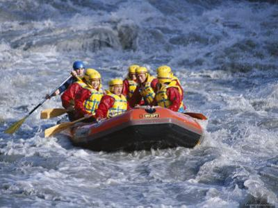 White Water Rafting, Queenstown, South Island, New Zealand