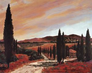 Tuscan Sunset II by D.J. Smith