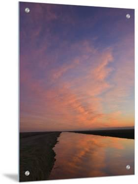 Scenic View of Lake and Sky, Sacramento Valley, California by D.M.