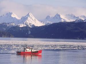 Fishing Boat, Kachemak Bay, Alaska by D. Robert Franz
