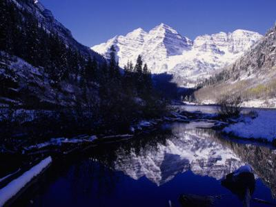 Maroon Bells Wilderness Area by D. Robert Franz