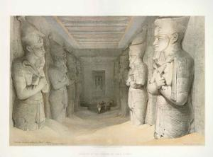 Temple Of Aboo Simbel by D. Roberts
