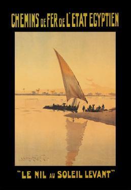 Le Nil au Soleil Levant by D. Rudeman