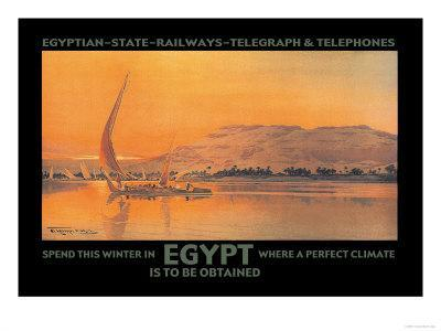 Spend This Winter in Egypt Where a Perfect Climate is to Be Obtained