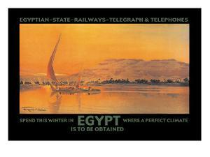 Spend This Winter in Egypt Where a Perfect Climate is to Be Obtained by D. Rudeman