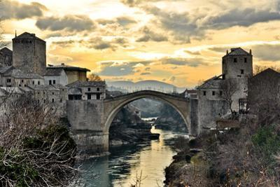 Old Bridge in Mostar by dabldy