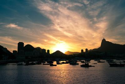 Rio De Janeiro Sunset by dabldy