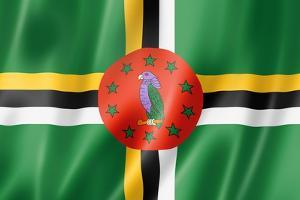 Dominica Flag by daboost