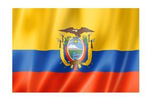 Ecuadorian Flag by daboost
