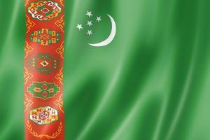 Turkmenistan Flag by daboost