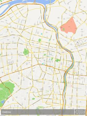 Daegu, Korea, Republic of Map
