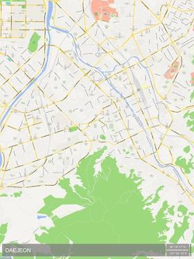 Daejeon, Korea, Republic of Map