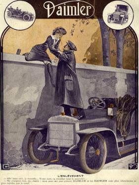 Daimler, Georges Leonnec, 1912, France