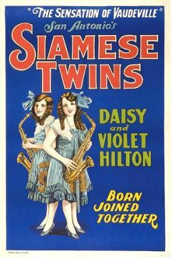 Daisy and Violet Hilton, 1920