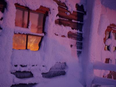 Frozen Window, Lapland, Finland