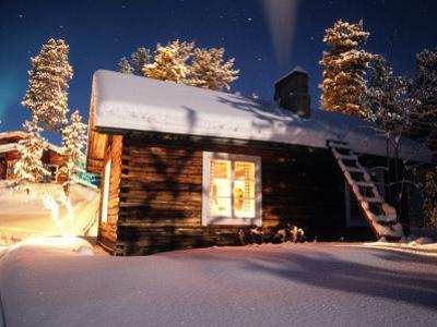 Old House of the Sami People, Lapland, Finland